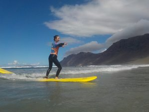 12 Day Surf and Yoga Holiday in Lanzarote, Canary Islands