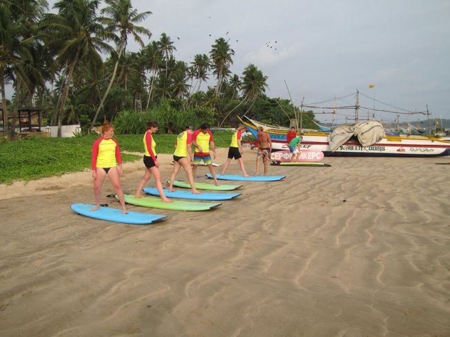 8 Days Fabulous Surf and Yoga Retreat in Sri Lanka