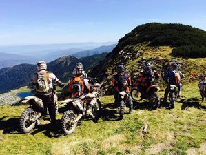 6 Day Intermediate and Advanced Guided Enduro Motorcycle Tour in Bugojno, Bosnia and Herzegovina