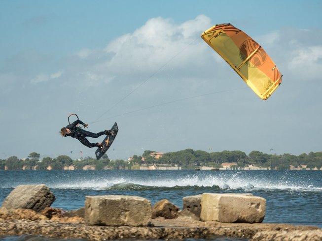 7 Days Kitesurfing Surf Camp in Marsala, Sicily, Italy