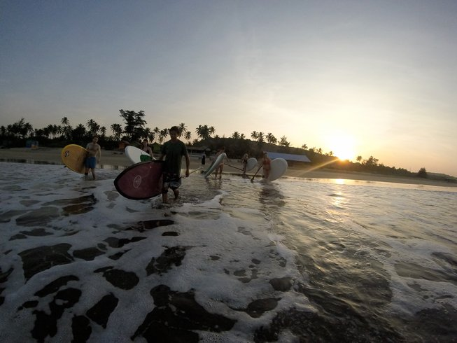 8 Days SUP, Meditation, and Yoga Retreat in India