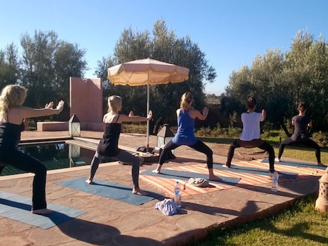 7 Days Uplifting Yoga Retreat in Marrakech Oasis, Morocco