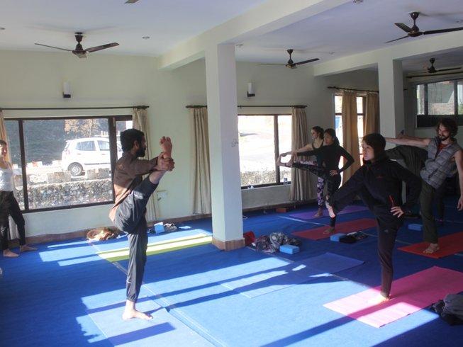 60 días profesorado de yoga de 500 horas en India