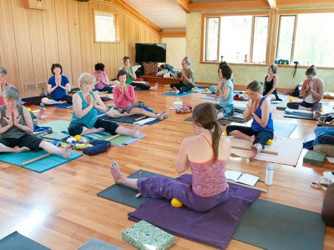 3 días retiro de yoga y meditación rural en Canadá