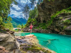 3 Days Budget Weekend, Hiking, Pizza, and Yoga Holiday In Faido, Ticino Switzerland