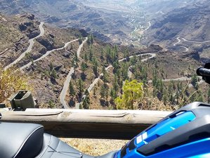 5 Day Ideal Mini Weekend Getaway and Guided Motorcycle Tour in Gran Canaria, Spain