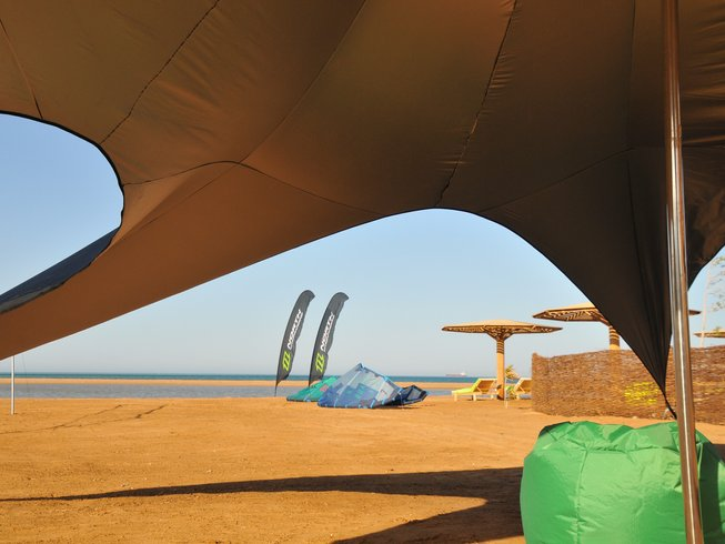 8 Days B&B Basic or Advanced Kitesurfing Safaga, Red Sea Governorate, Egypt