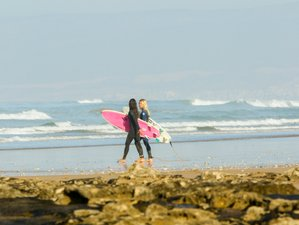 5 Days Authentic Yoga and Surf Camp in Tamraght, Morocco