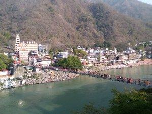 5 Tage Yogaayam Ashtanga, Yin und Vinyasa Yoga Retreat in Rishikesh, Indien