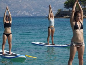 8 Day Montenegro and Southern Croatia by Land and Sea: Sailing, Cycling and SUP Yoga Holiday