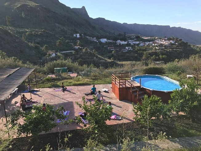 7 days naturist healthy living and yoga retreat in gran - Living in gran canaria ...