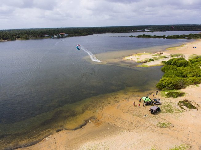 8 Days Beginner Kitesurfing Surf Camp Sri Lanka