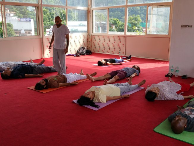 28 Days 200 hour Yoga Teacher Training in Rishikesh
