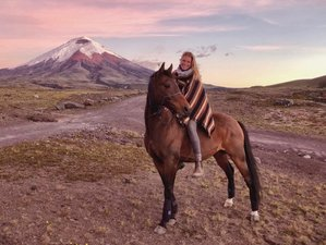 3 Day Discover Cotopaxi on Horseback Adventure and Yoga Holiday in Machachi