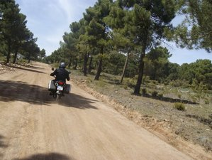 4 Days Winter Break Trail Riding Guided Motorcycle Tour in Andalusia, Spain