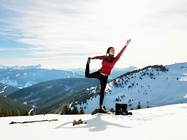 8 Days Yoga, Spa and Skiing in the Dolomites, Italy