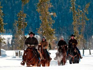7 Days Luxurious Winter Ranch Vacation in Colorado, USA