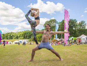 3 Days Full Moon Festival Yoga Retreat in Glastonbury, UK