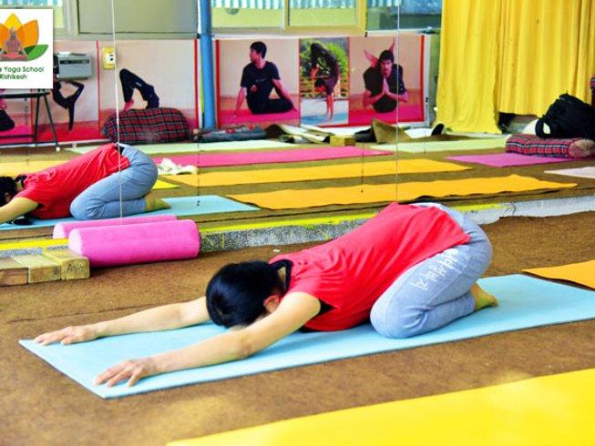 58 Days 500-Hour Yoga Teacher Training in Rishikesh, India