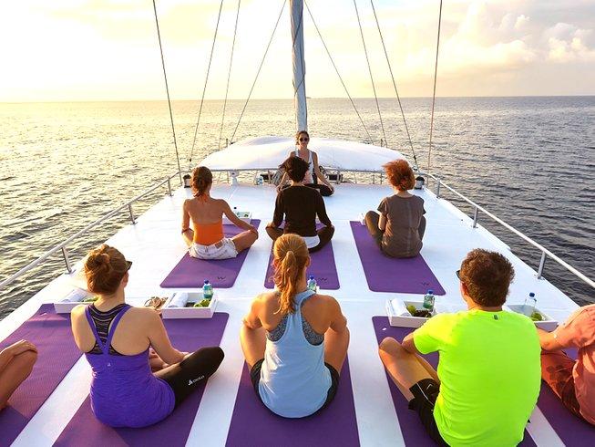 8 Days Cruising Yoga Retreat in Maldives