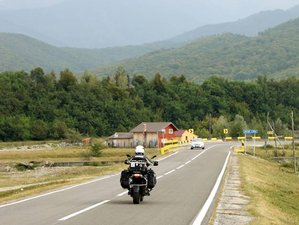 8 Days Explore Romania on a Guided Motorcycle Tour