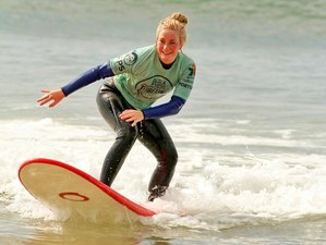 7 Day Urban Surf Camp for Beginners in Alfama, Lisbon
