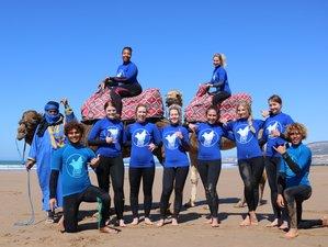 8 Tage Frauen Surf und Yoga Retreat in Marokko