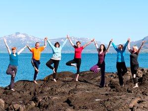 6 días solsticio de verano y retiro de yoga Islandia
