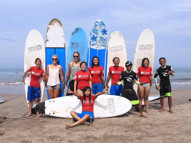 2 Days Authentic Turtle Island Surf Camp Bali
