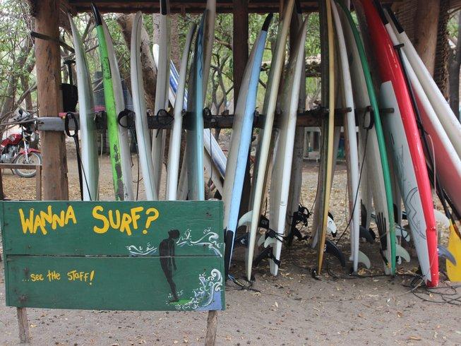 8 Days Family Nicaragua Yoga Retreat and Surf Camp