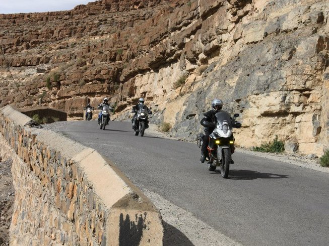 6 Days Guided Morocco Motorcycle Tour
