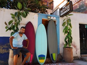 8 days Sunset Surf Camp, with traditional cuisine and authentic accommodation, Tamraght, Taghazout.