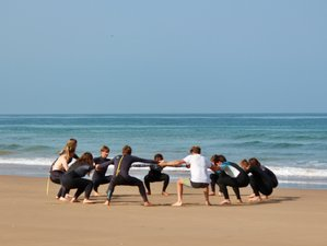 6 Day Surf Sessions for All Levels with Relaxing Yoga Practices in Aourir, Agadir