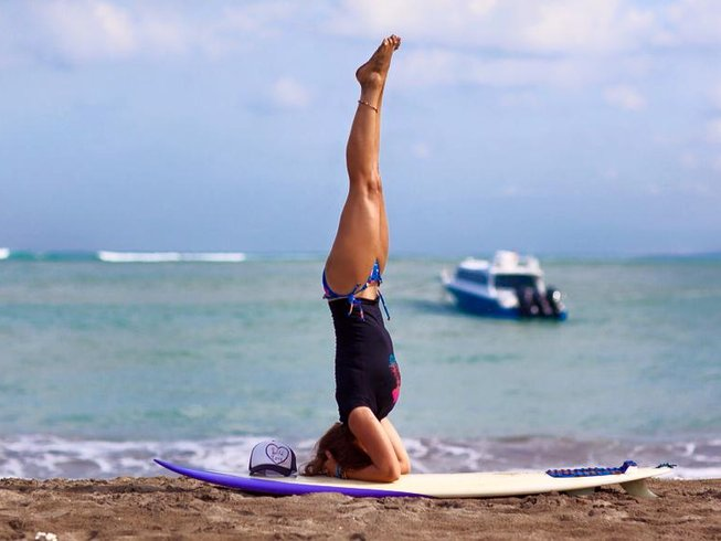 7 Days Full Surf and Yoga Retreat Spain
