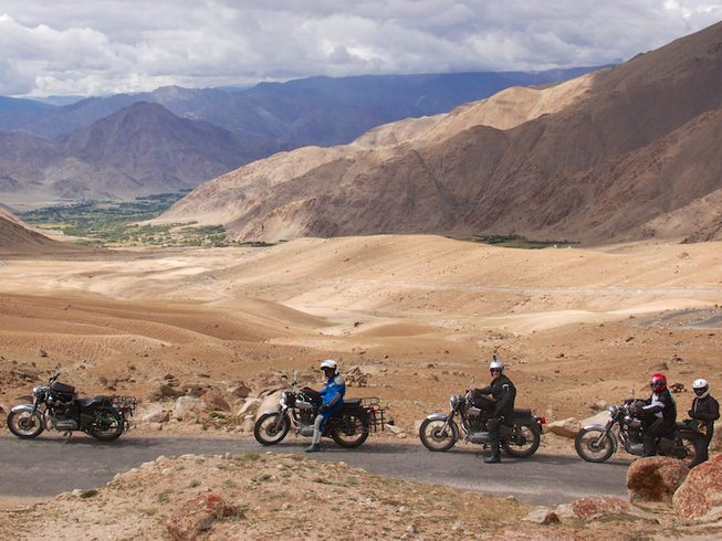 10 Days Guided India Motorcycle Tour from Manali to Leh