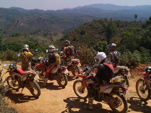 5 Days Off-Road Motorcycle Tour in Northern Thailand