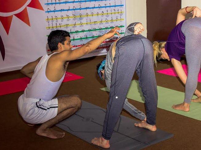 29 jours-200h de formation de professeur de yoga dans le Kerala, Inde