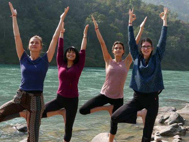 42 Days 300-Hour Yoga Teacher Training in Rishikesh, India