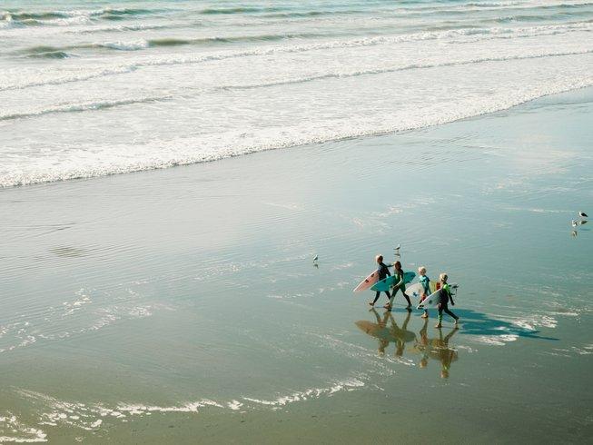 Surfkampen voor kinderen