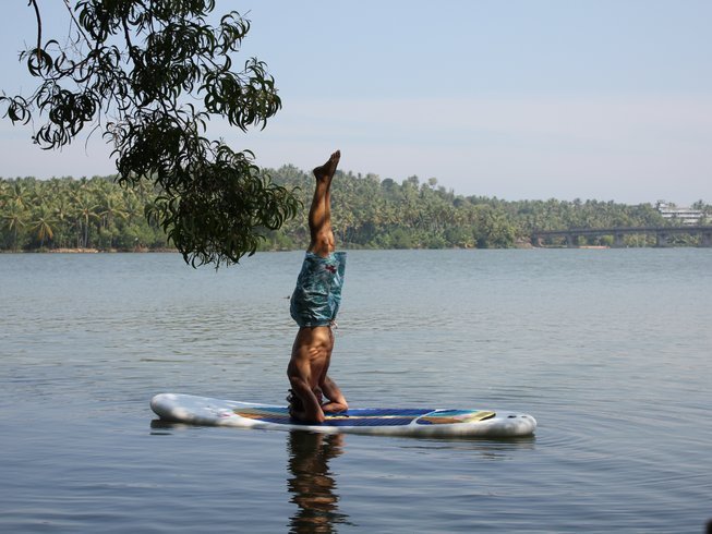 8 Days SUP, Meditation, and Yoga Retreat in Goa, India