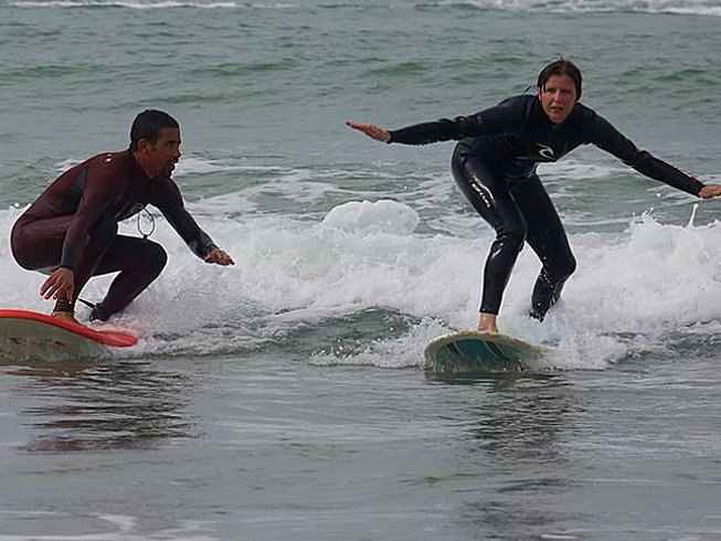 6 Days Guiding Surf Camp in Morocco