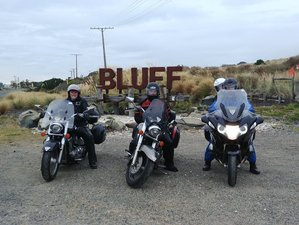 18 Days Fully-Guided Weka Trails Motorcycle Tour in South Island, New Zealand