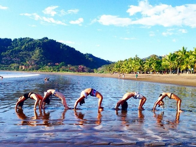 6 Days Budget Oceanfront Yoga Retreat in Costa Rica