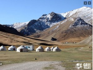 9 Days Kyrgyzstan Guided Motorcycle Tour Exploring Its Mountains and Majestic Lakes