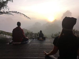 28 Days Silent Buddhist Meditation and Yoga Retreat in Colombia