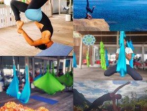 5 jours en formation intensive de professeur de yoga aérien sur l'île de Madère, Portugal