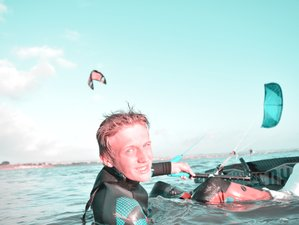 8 Day Get Started! Beginner and Advanced Kitesurf Camp in Sicily, Province of Trapani