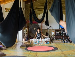 7 Day New Years Retreat with Aerial Yoga and Sound Healing in Maui, Hawaii