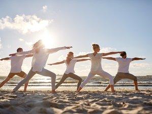 Vacances de yoga, Pilates, kitesurf, planche à voile, SUP et surf à Dakhla, Maroc