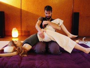 11 jours en formation de massage thaï avec yoga et chamanisme à Wimmenau, Alsace